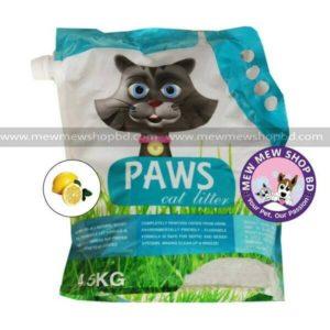Paws litter (5) lemon