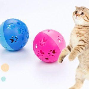 Cat Playing ball