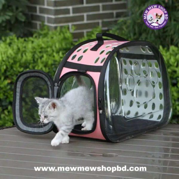 Cat Backpack Transparent Pet Carrier Bag
