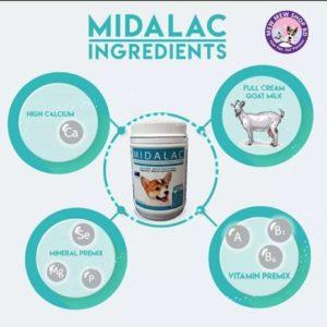 Midalac Goat's Milk - Milk For Dog & Puppy
