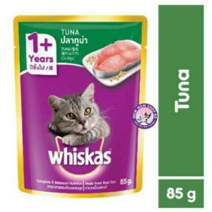 whiskas tuna adult pouch