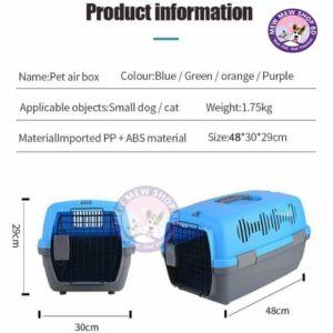 Pet Carrier box size