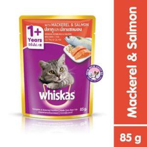 whiskas mackerel and salmon