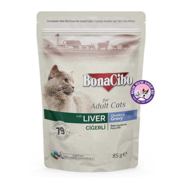 bonacibo wet pouches liver
