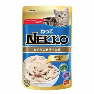 Nekko Adult Pouch Wet Cat Food Tuna