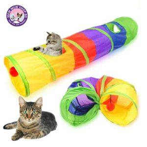 rainbow tunnel toy