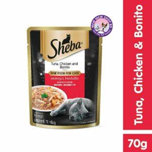 Sheba Tuna & Chicken with Bonito