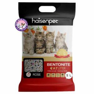 Haisenpet Bentonite Cat Litter 5L - Rose
