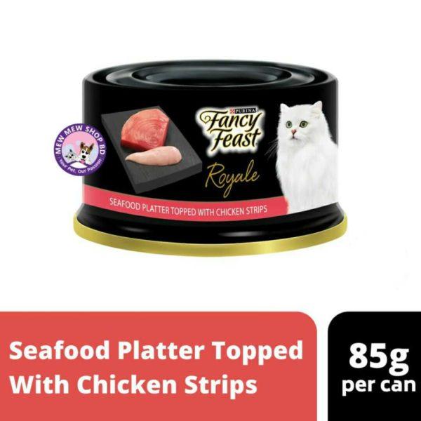 Fancy Feast Seafood Platter
