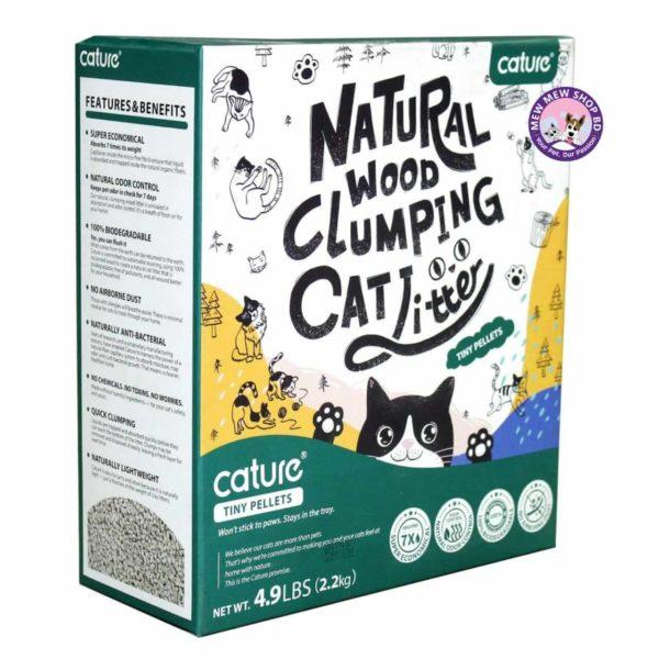 Natural Wood Cat Litter