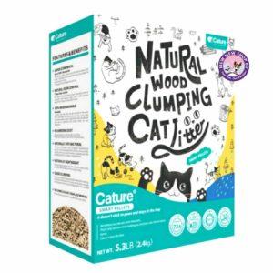 Cature Smart Pellets Natural Wood Clumping Cat Litter