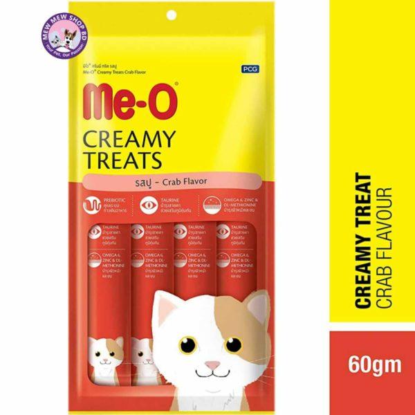 Me-O Creamy Treats Crab Flavour