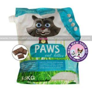Paws litter (1) chocotate
